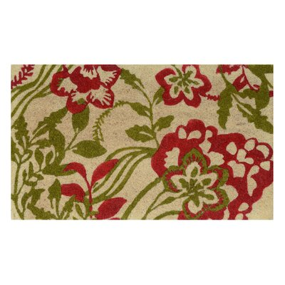 Bayridge Doormat Color: Red