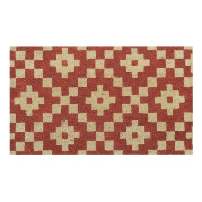 Arnold Doormat Color: Red