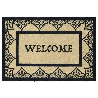 Barnaby Doormat Color: Black