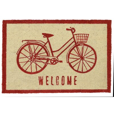 Marini Doormat Color: Red