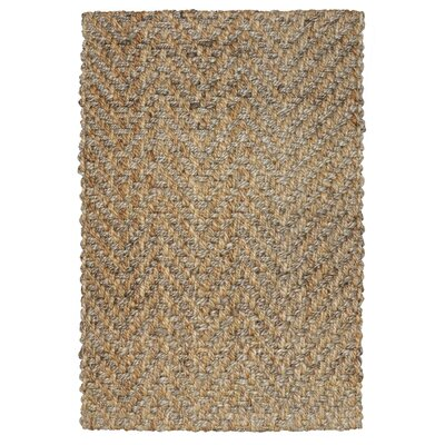 Shayla Hand-Woven Brown Area Rug Rug Size: 2 x 3
