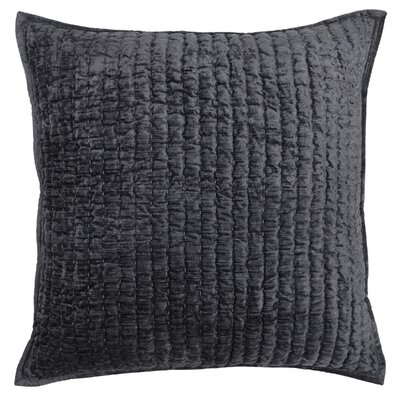Higgin Throw Pillow Color: Charcoal