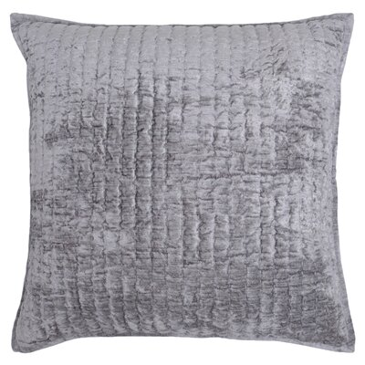 Higgin Throw Pillow Color: Gray