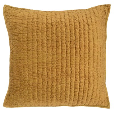 Higgin Throw Pillow Color: Ochre