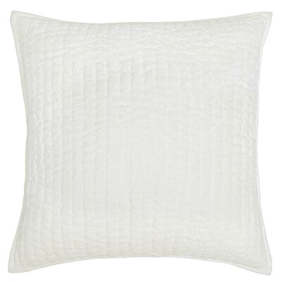 Higgin Throw Pillow Color: Pearl White