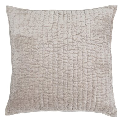 Higgin Throw Pillow Color: Pebble