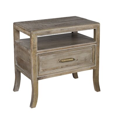 Arceneaux 1 Drawer Nightstand