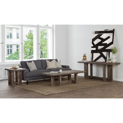 Pinellas Reclaimed Pine 3 Piece Coffee Table Set