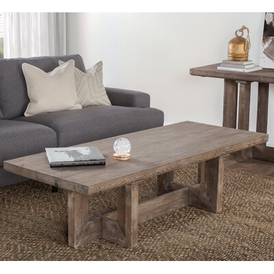 Pinellas Reclaimed Pine 66 Coffee Table