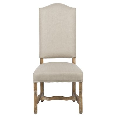 Casper Upholstered Dining Chair (Set of 2) Color: Linen Sand