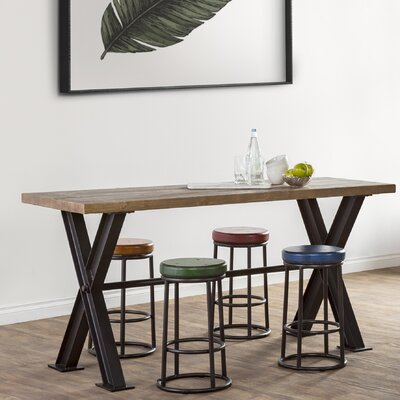 Durant Pine Dining Table Size: 36 H x 77 W x 27 D