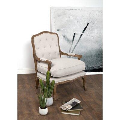 Eleanor Armchair Upholstery: Muslin Beige