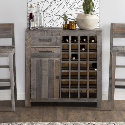 Needham Wine Cabinet Color: Charcoal