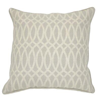 Versailles Ellipse Linen Throw Pillow Color: Natural