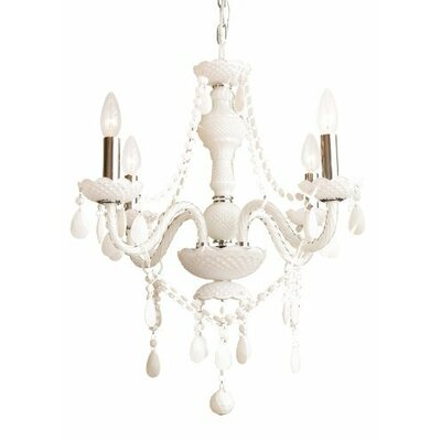 Royal 4-Light Crystal Chandelier Plug-In Kit: No