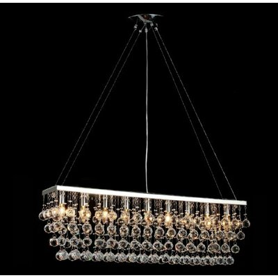 Antoninus 9-Light Kitchen Island Pendant