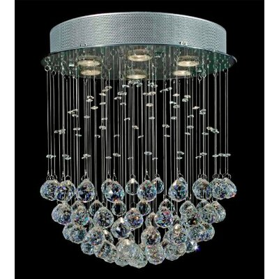 Antoninus 6-Light Crystal Chandelier