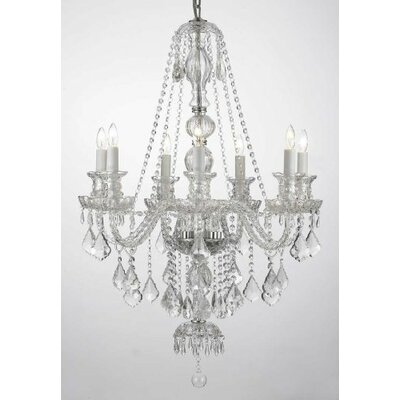 Royal 7-Light Crystal Chandelier Finish: Clear
