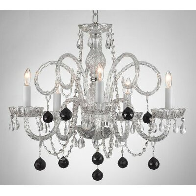 Judkins 5-Light Crystal Chandelier