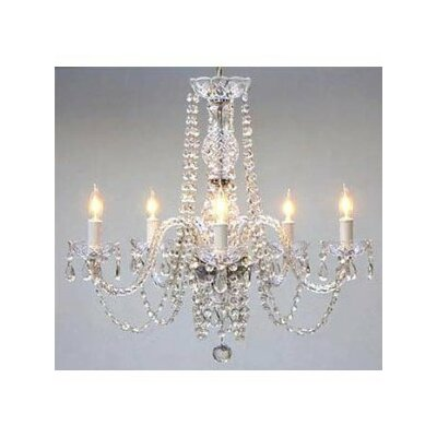 Kagan 5-Light Crystal Chandelier