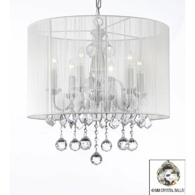 Jurgens 6-Light Drum Chandelier