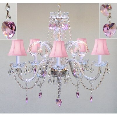 Joyner 5-Light Crystal Chandelier