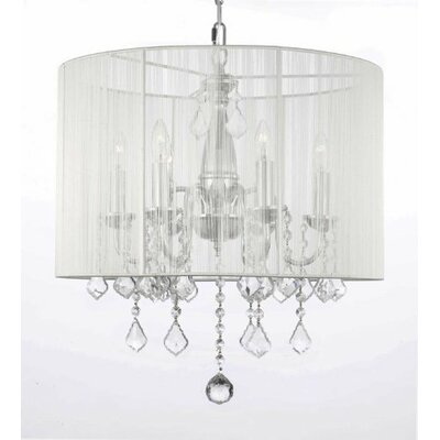 Luca 6-Light Drum Chandelier