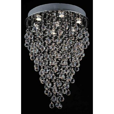 Antoninus 7-Light Crystal Chandelier