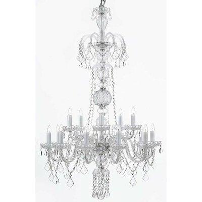 Royal 15-Light Crystal Chandelier