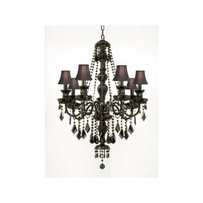 Meredith 7-Light Crystal Chandelier