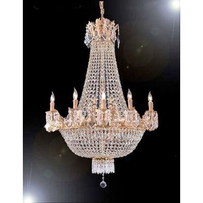 How To Get French Empire 9 Light Crystal Chandelier Low