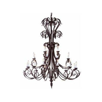 Alvan 24-Light Candle-Style Chandelier