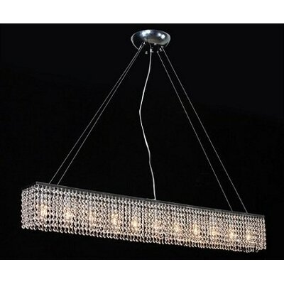 Holmquist 11-Light Kitchen Island Pendant