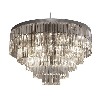 Stewart 17-Light Crystal Chandelier