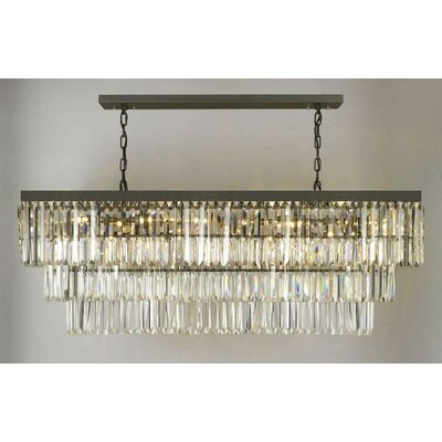 Keever 12-Light Kitchen Island Pendant