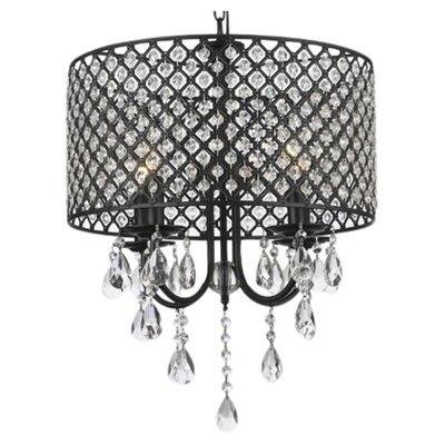 Kadlec 4-Light Drum Chandelier