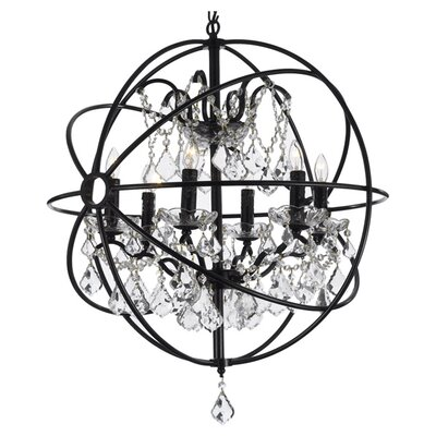 Clemence 6-Light Globe Pendant