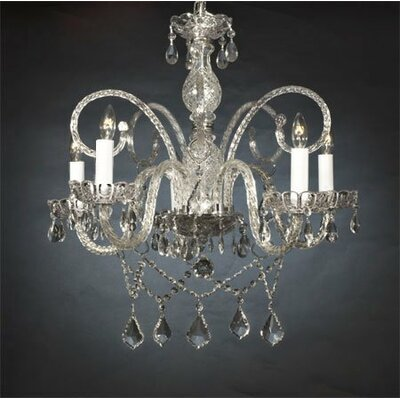 Linneman 5-Light Crystal Chandelier