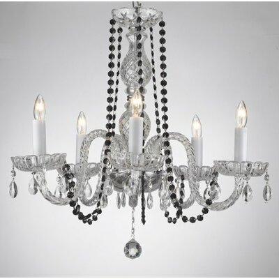 Karst 5-Light Crystal Chandelier