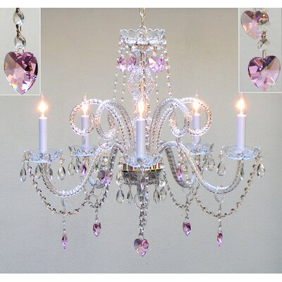 Kanter 5-Light Crystal Chandelier