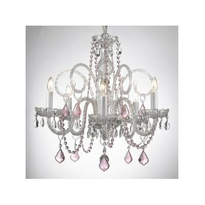 Kapp 5-Light Crystal Chandelier