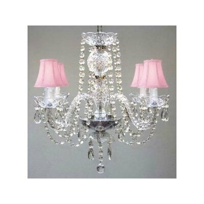 Karas Swarovski 4-Light Crystal Chandelier