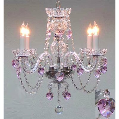 Karlov 4-Light Crystal Chandelier