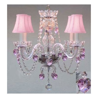Karn 4-Light Crystal Chandelier