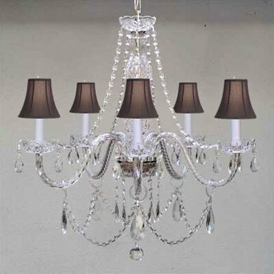 Royal 5-Light Crystal Chandelier