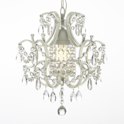 Harrison Lane 5 Light Crystal Chandelier T40-576