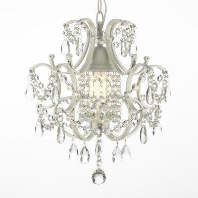 Harrison Lane Versailles 1 Light Crystal Chandelier T40-597