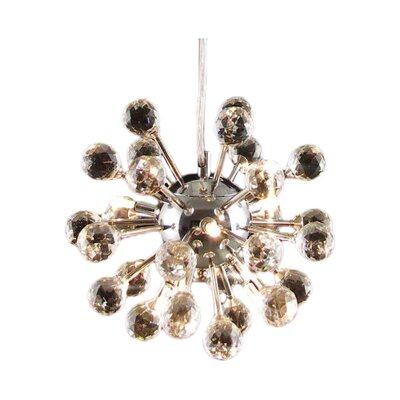 Hornback 6-Light Sputnik Chandelier