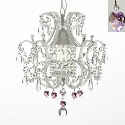 Harrison Lane 1 Light Crystal Chandelier T40-598