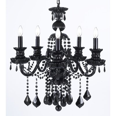 Doster 5-Light Candle-Style Chandelier